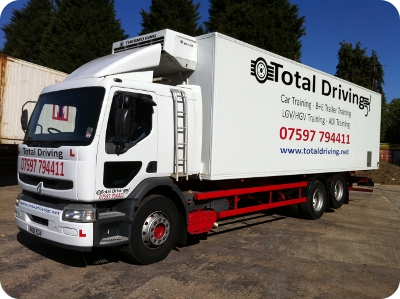 Category C Class 2 LGV HGV Training Ipswich Bury St Edmunds Suffolk
